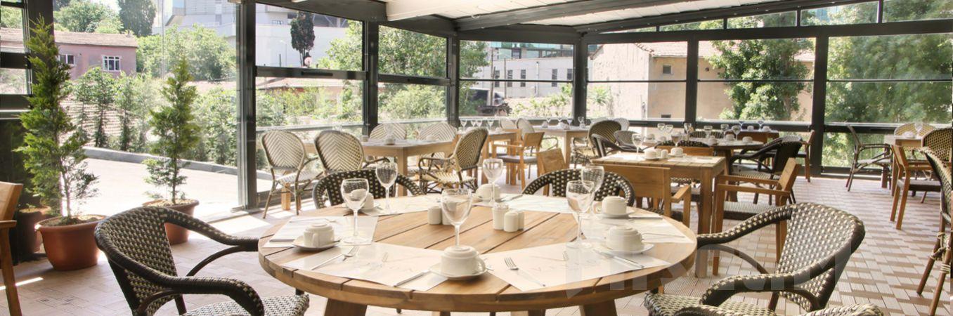 Şişli Veryon Otel Fresh Garden Restaurant'ta Açık Büfe Kahvaltı Keyfi!