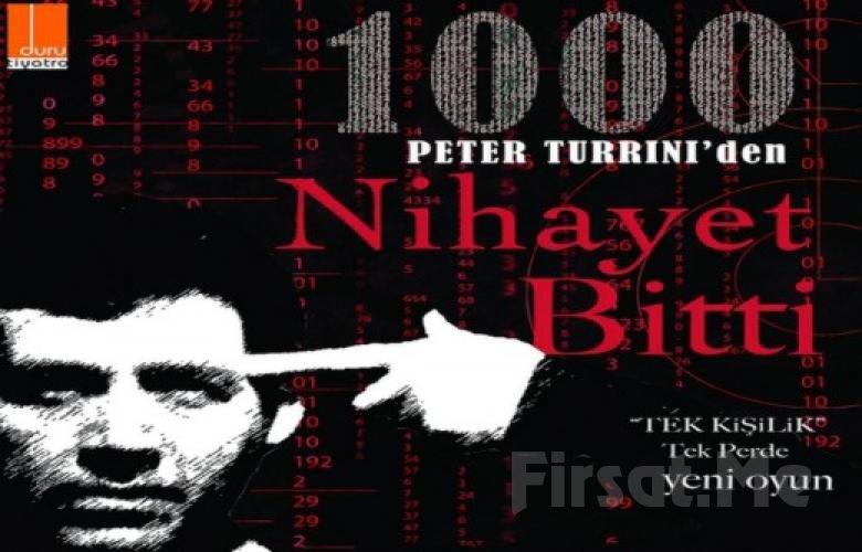 """Duru Tiyatro'da Emre Kınay'dan Tek Kişilik """"Nihayet Bitti"""" Oyununa Biletler!"""