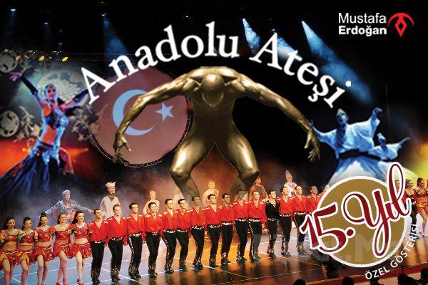 Mall Of İstanbul Moi Sahne de 14 Aralık'ta ANADOLU ATEŞİ 15. Yıl Özel Gösterisi Giriş Biletleri!