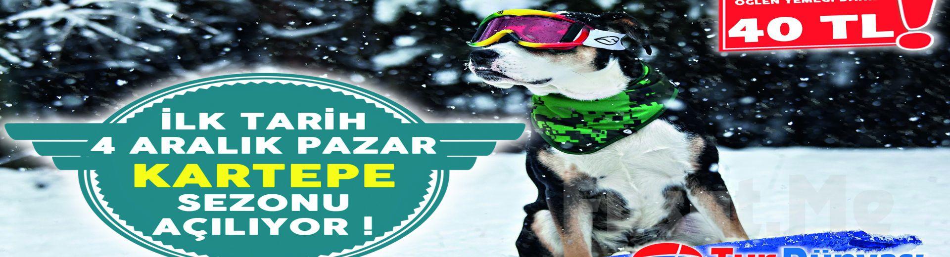 Kış Cenneti Kartepe'ye Gidiyoruz! Tur Dünya'sından Öğle Yemeği Dahil Günübirlik Kartepe Kayak Turu!