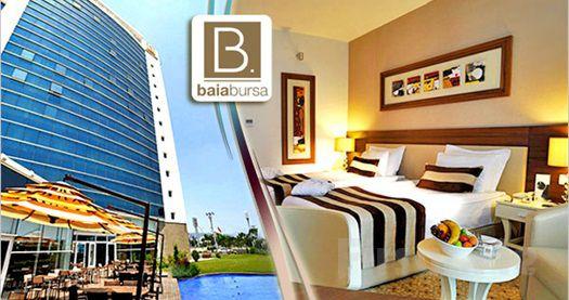 Bursa Baia Hotel'de 2 Kişi 1 Gece Konaklama ve SPA Keyfi!