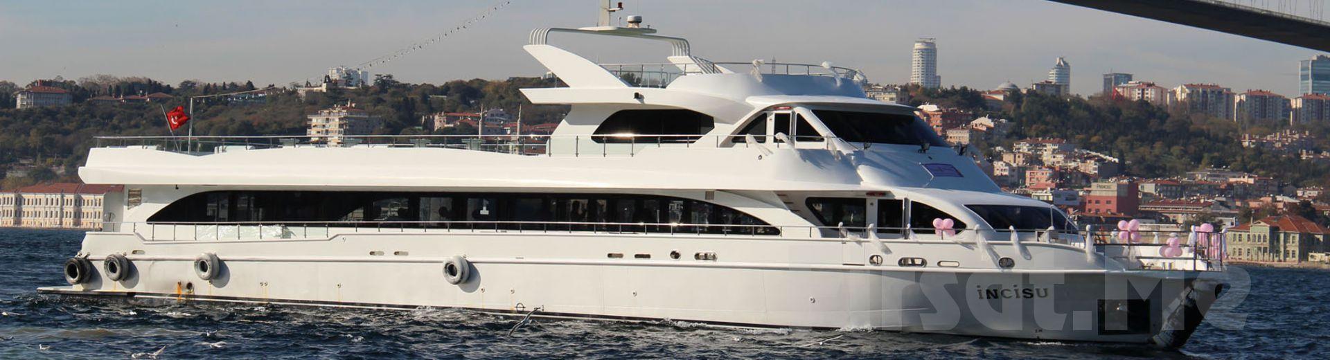 İncisu Teknesi'nde Açık Büfe Kahvaltı + Sınırsız Çay-Kahve Eşliğinde Boğaz Turu!