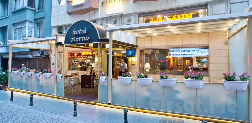 Taksim Eterno Hotel'de Kahvaltı Dahil Konaklama Keyfi