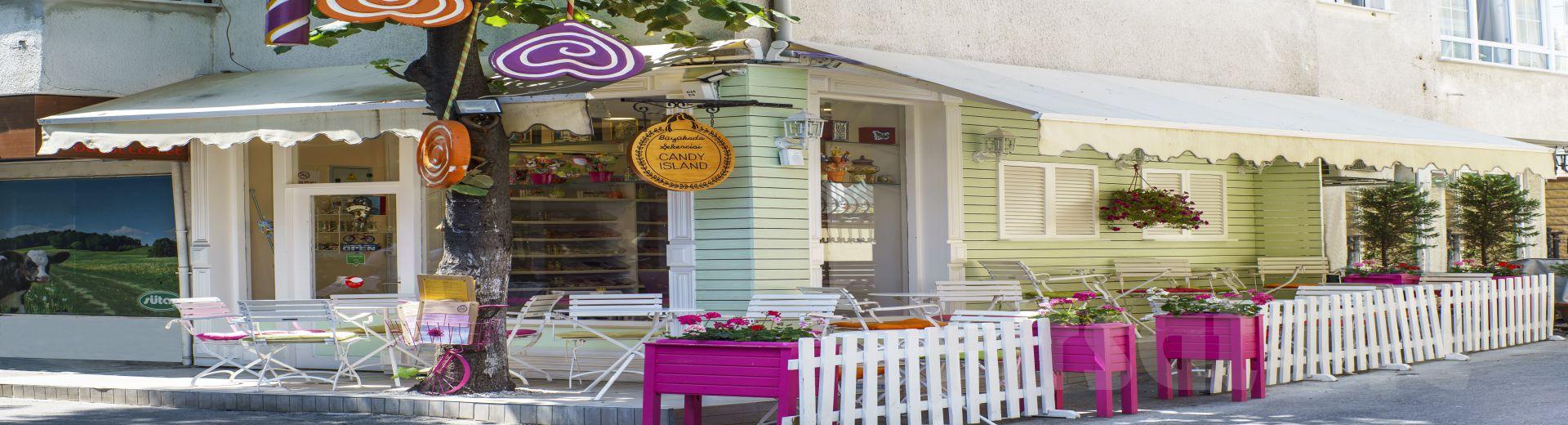 Büyükada Şekercisi Candy Island'da El Yapımı Tatlı, Limonata ve Kahve Keyfi!