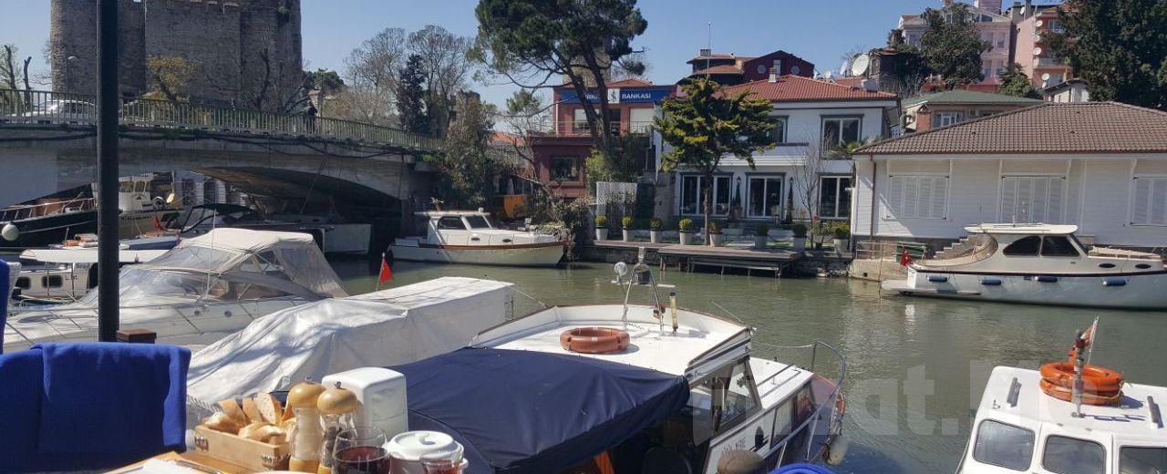 Anadoluhisarı Seria Marin Cafe & Restaurant'ta Göksu Nehri Manzaralı Öğle veya Akşam Yemeği Keyfi!