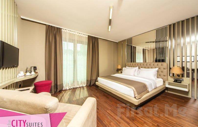 Ataşehir The City Suites Hotel'de 2 Kişi 1 Gece Kahvaltı Dahil Konaklama Keyfi