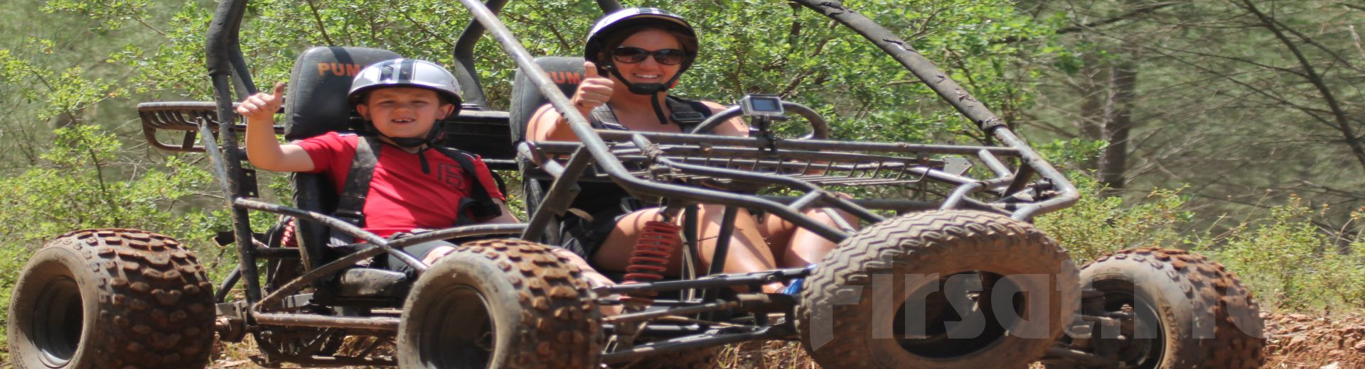 Marmaris'te Adrenalin Dolu Atv (Quad) veya Buggy Safari Turu!