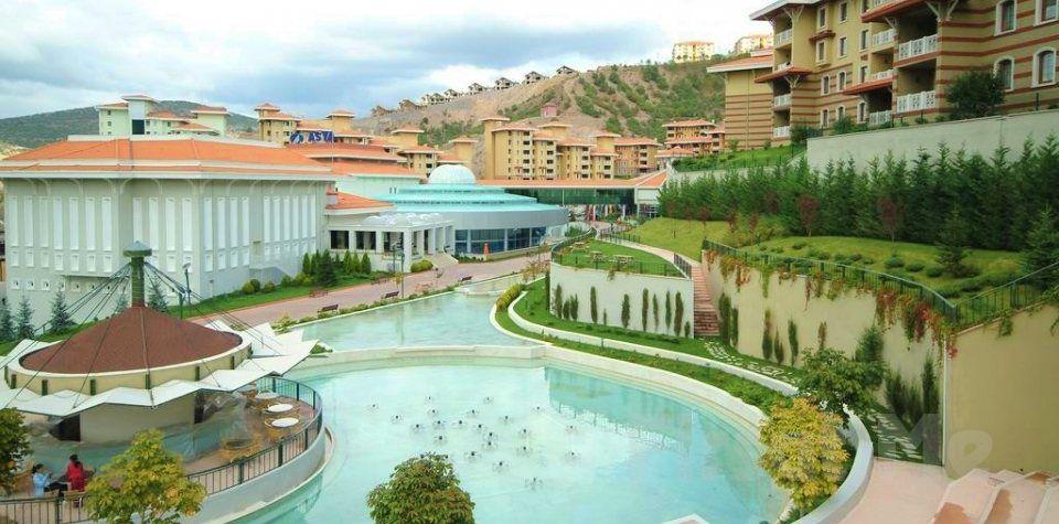Ankara Kızılcahamam'da Eliz Termal Otel'de Termal Kullanımı ve Yarım Pansiyon Konaklama Keyfi