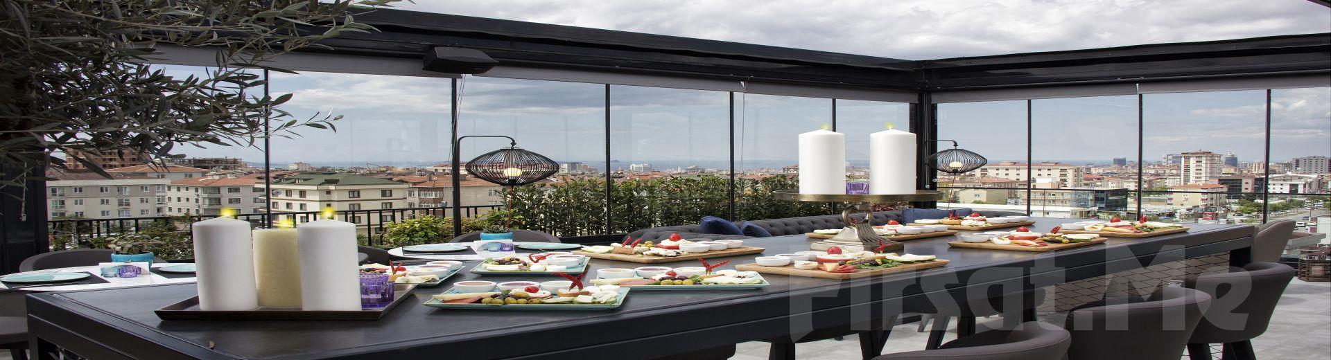 Adalar ve Panaromik İstanbul Manzaralı Cityloft Hotel Ataşehir Benjamin Terrace'da Her Pazar Açık Büfe Brunch Keyfi!