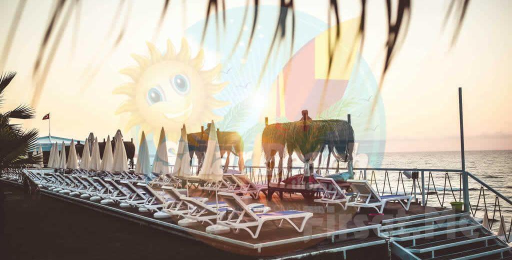 İstanbul'un En Güzel Plajı Kilyos Solar Beach Therapy'de, Tüm Gün Plaj Girişi + Şezlong + Şemsiye!