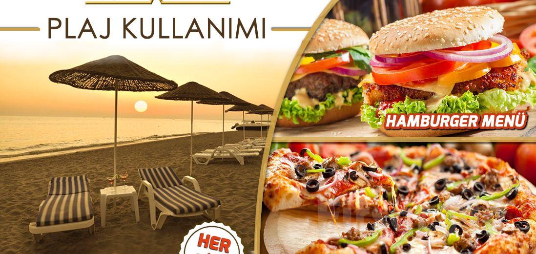 Kumburgaz Ronax Hotel'de Tüm Gün Plaj Kullanımı, Şezlong, Öğle Yemeği, 1 Adet Meşrubat Fırsatı (Haftanın Her Günü Geçerli)