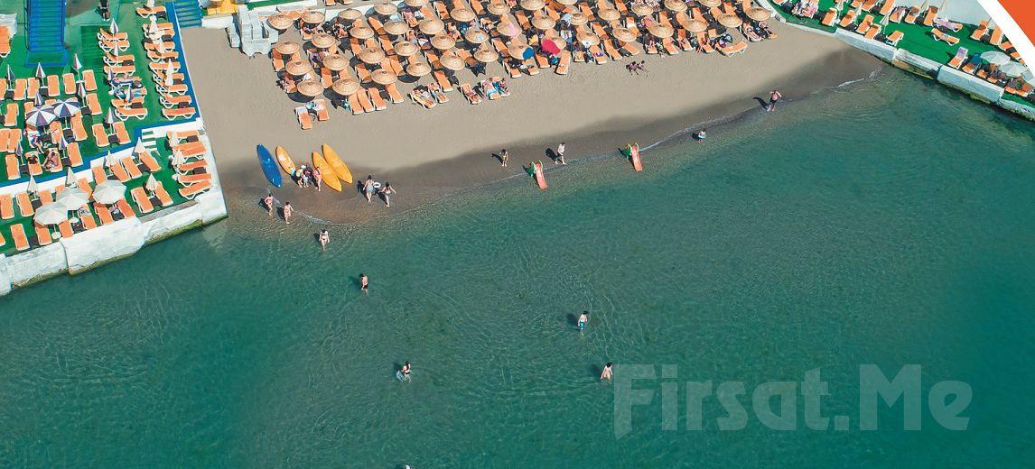 Deniz, Kum, Güneş Sizi Bekliyor Büyükada Yörükali Plajı'na Giriş, Şezlong, Şemsiye Fırsatı