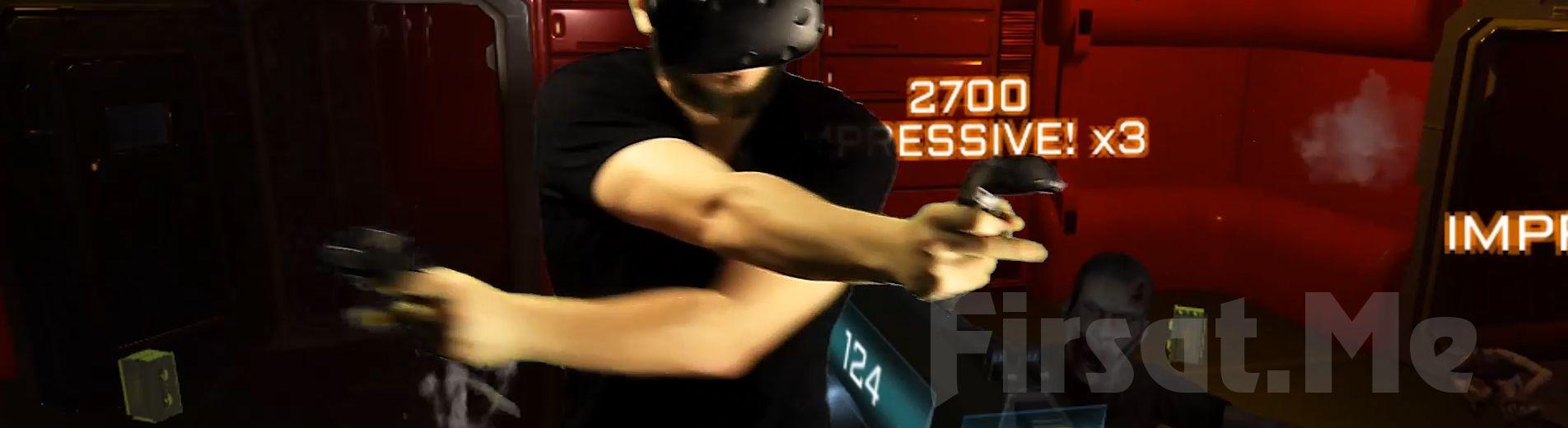 VR- Cafe Kadıköy'den Eşsiz bir Deneyim; HTC Vive ile Sanal Gerçeklik Oyunu!