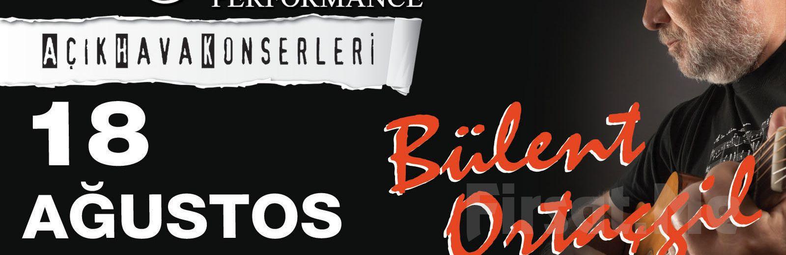 Beyoğlu Sanat Performance'ta 18 Ağustos'ta BÜLENT ORTAÇGİL Açık Hava Konseri Giriş Bileti!