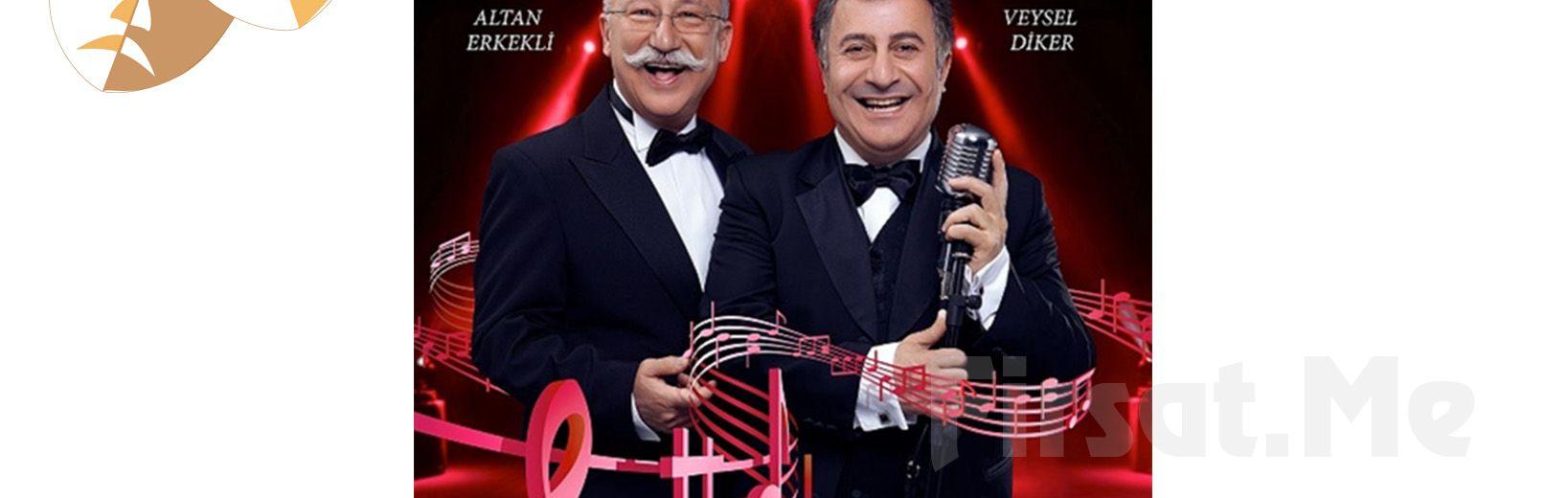 """Altan Erkekli ve Veysel Diker'den """"Şifa Niyetine!"""" Tiyatro Bileti!"""
