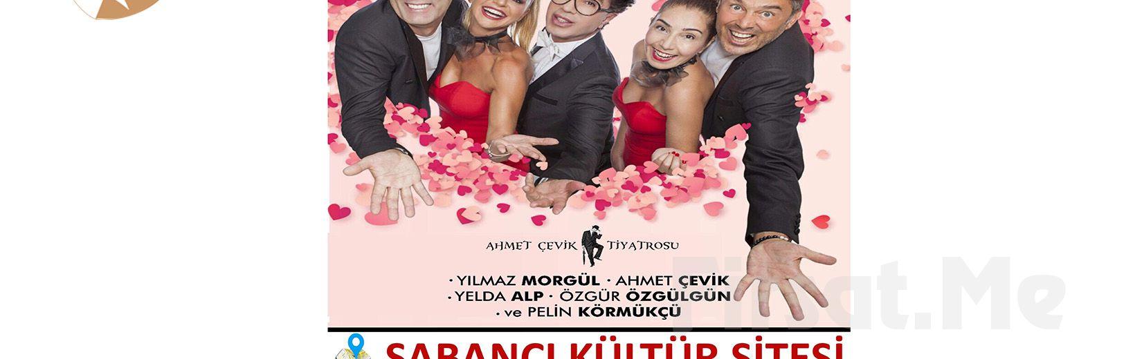 """Ünlü ve Usta Oyunculardan """"ŞAKA GİBİ"""" Tiyatro Oyun Bileti!"""