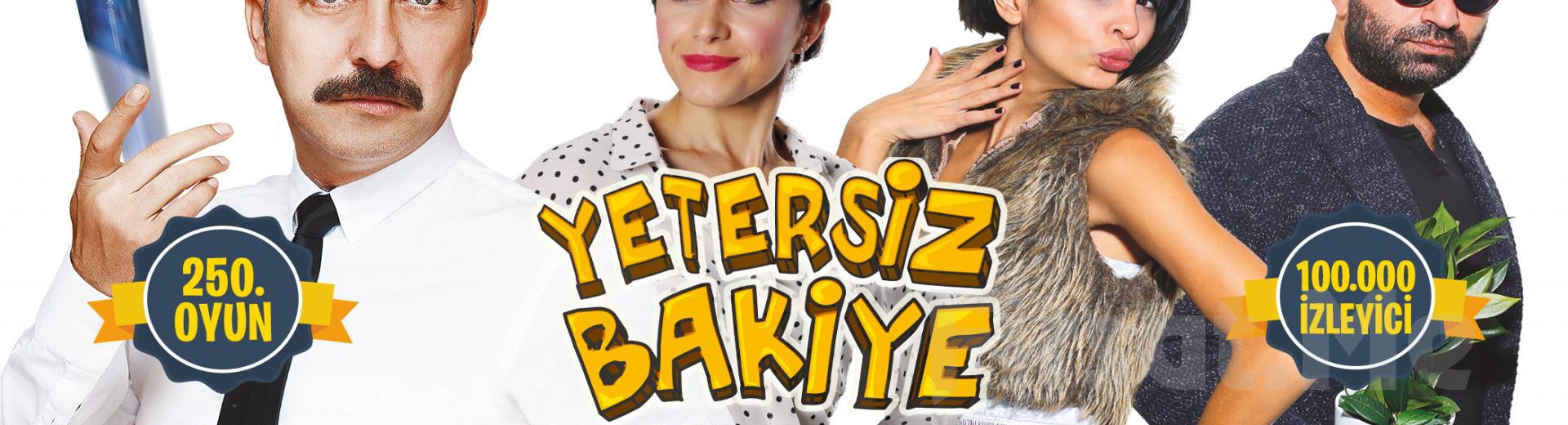 Kahkahası Bol Komedi Oyunu 'Yetersiz Bakiye' Tiyatro Bileti