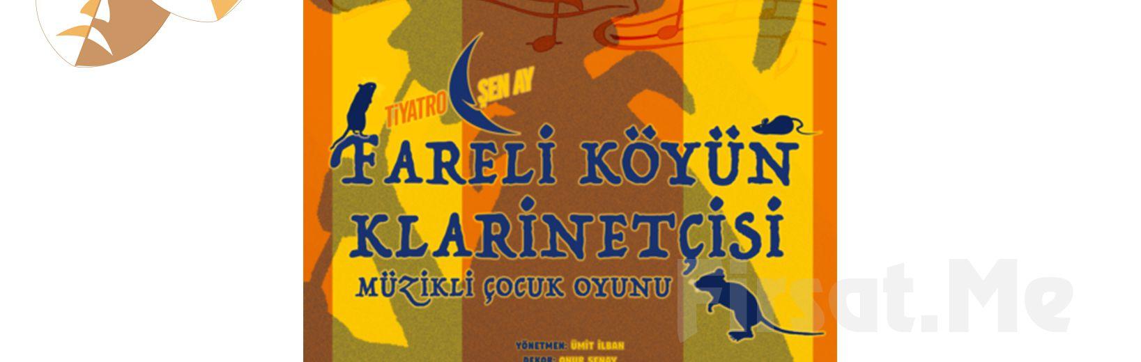 """Kats Sahne'de Her Pazar Çocuklarınız için """"Fareli Köyün Klarinetçisi"""" Tiyatro Oyun Bileti!"""