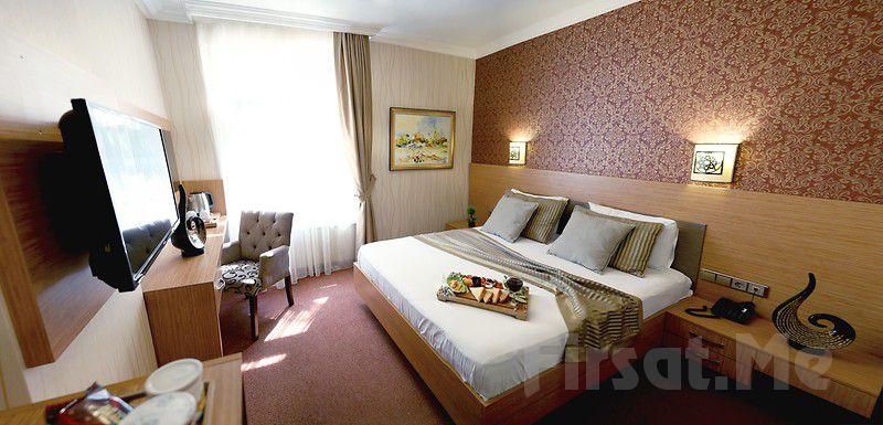 The Rise Aron Business Hotel Merter'de 2 Kişi 1 Gece Kahvaltı Dahil Konaklama