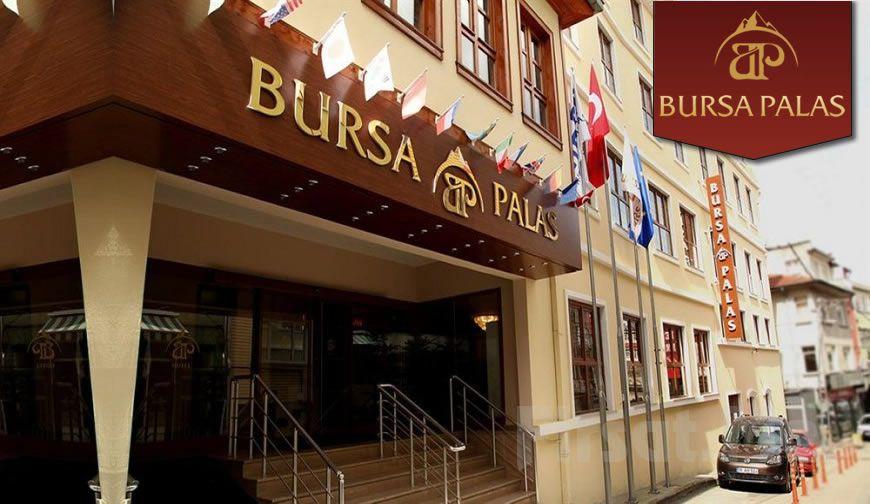 Bursa Palace Hotel'de Standart Odalarda Çift Kişi Kahvaltı Dahil Konaklama!