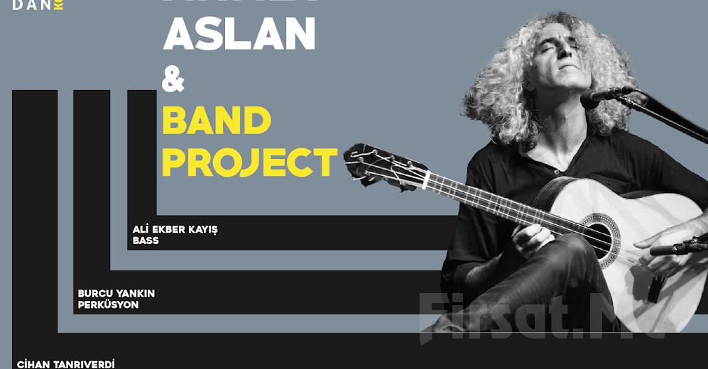Anadolu Müziğinin Ünlü Sanatçısı Ahmet Aslan, Band Project Konseri Giriş Bileti