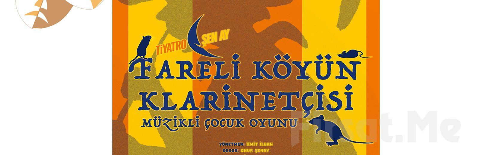 Kats Sahne'de Her Pazar Çocuklarınız için Fareli Köyün Klarinetçisi Tiyatro Oyun Bileti