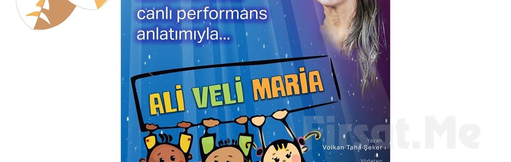 Efsane Oyuncu Suna Selen'den 22 Nisan'da Çocuklarınız İçin Ali Veli Maria Tiyatro Oyun Bileti