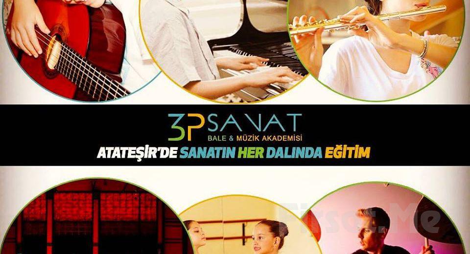 3P Sanat Ataşehir'den 1 Aylık Drama, Dans ve Müzik Eğitimleri