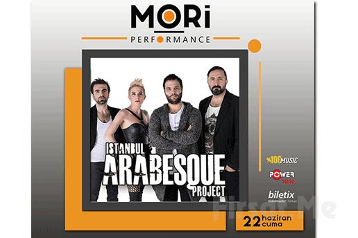 Mori Performance'da 22 Haziran'da İstanbul Arabesque Project Konseri Giriş Bileti