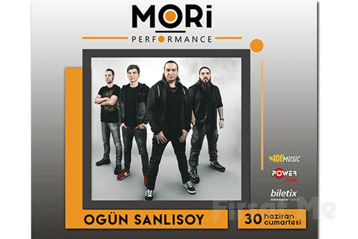 Mori Performance'da 30 Haziran'da Ogün Şanlısoy Konser Bileti