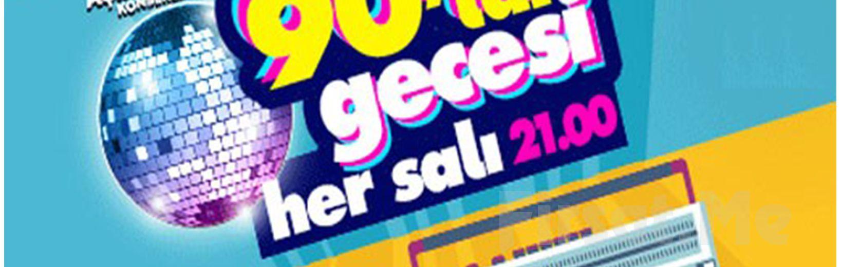 Beyoğlu Sanat Performance'ta Her Salı 90'lar Gecesi Açık Hava Konserleri Giriş Bileti