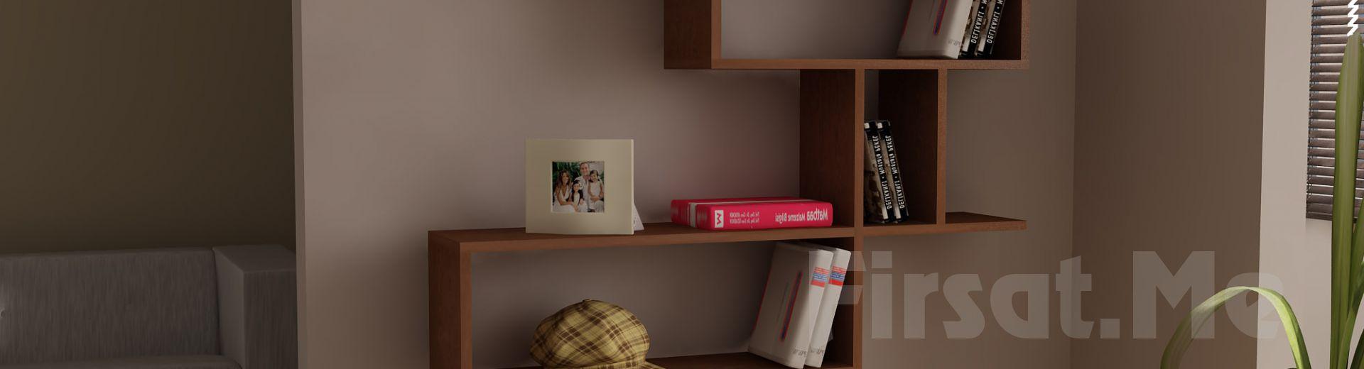 Dekorister Modüler Mobilya'dan, 5 Ayrı Renkte 'Dekorister Montera Kitaplık' Fırsatı