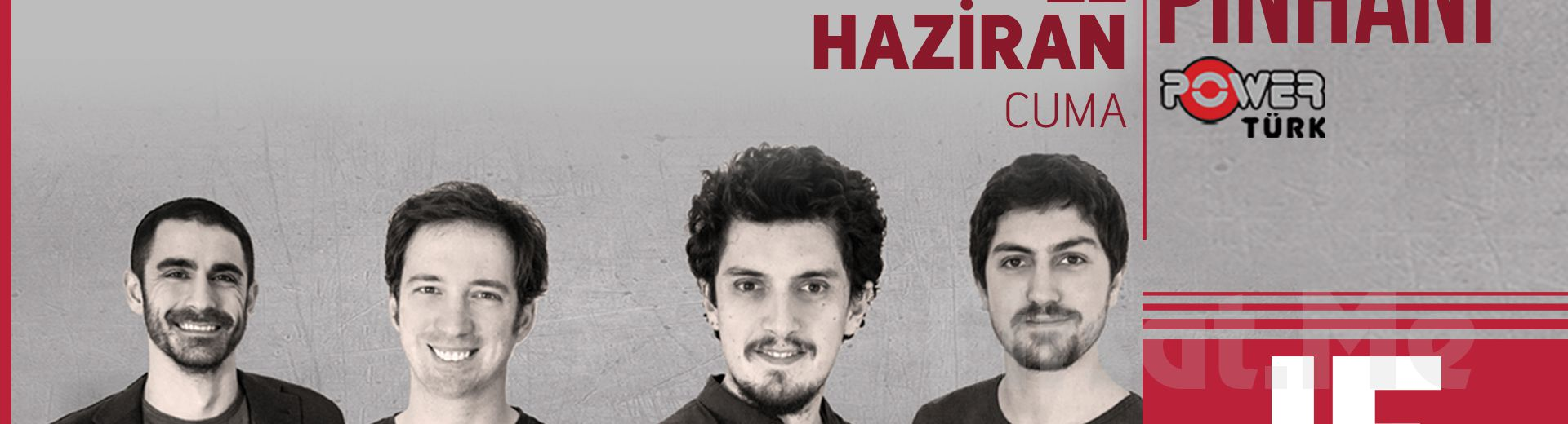 IF Performance Hall Beşiktaş'ta 22 Haziran'da Pinhani Konser Giriş Bileti