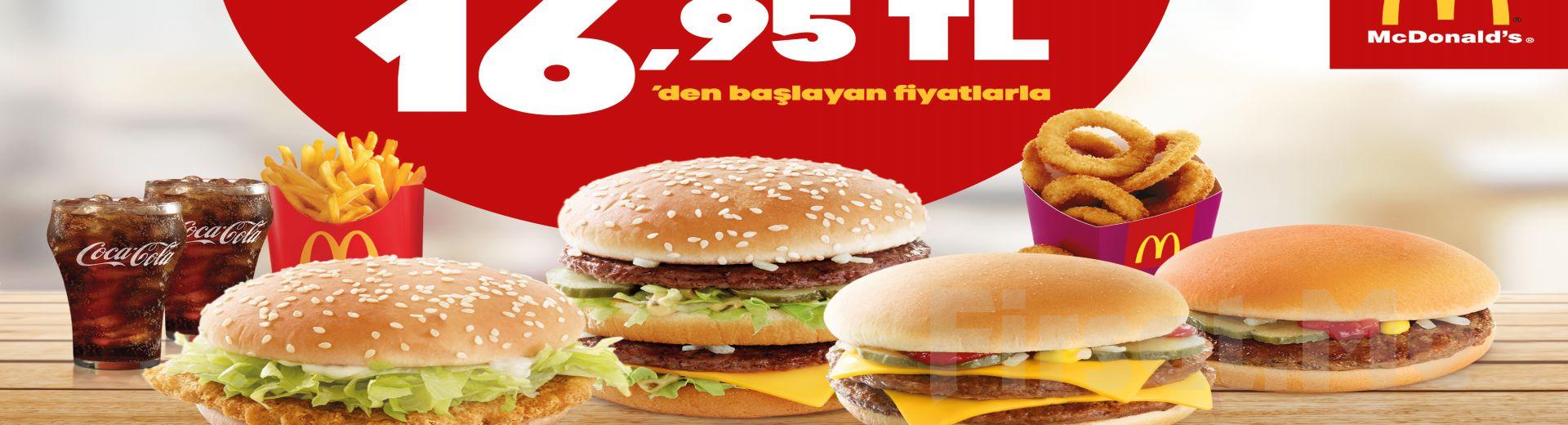 McDonald's Restoranlarında Geçerli Çift Kişilik Menü Seçenekleri