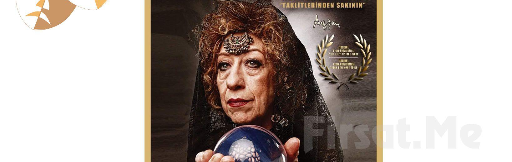 Usta Sanatçı Ayşen Gruda'nın Muhteşem Oyunculuğla 'Deli Kadın' Tiyatro Oyunu Bileti