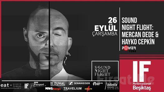 IF Performance Hall Beşiktaş'ta 26 Eylül'de Hayko Cepkin & Mercan Dede Konser Bileti