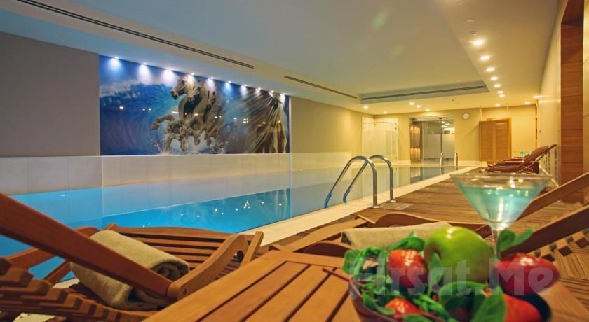 Holiday Inn Şişli Hotel Ni Thai Spa'da Masaj, Islak Alan Kullanımı, Havuz, Fitness Kullanımı
