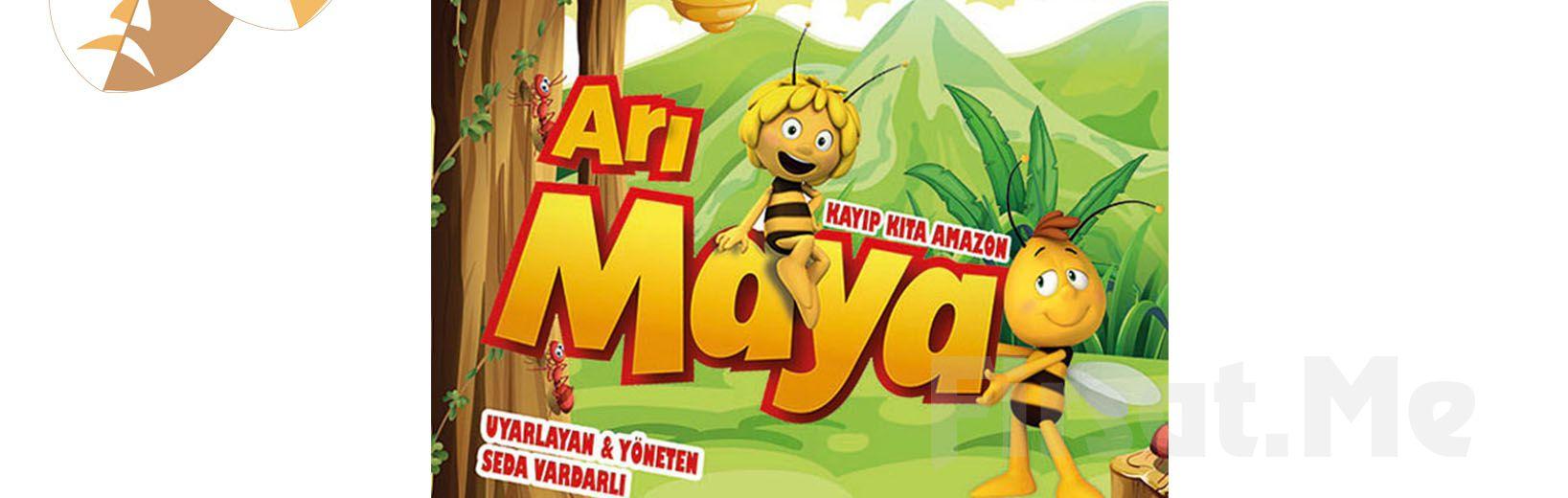 'Arı Maya Kayıp Gıda Amazon' Müzikli Danslı Çocuk Tiyatro Oyun Bileti