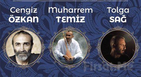 Cengiz Özkan, Muharrem Temiz ve Tolga Sağ ile 'Üç Nefes' Konser Bileti