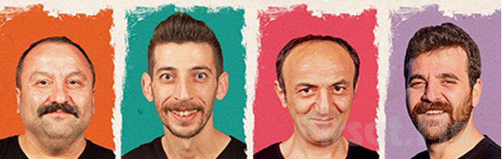 Ersin Korkut, Hakan Bulut, Erdem Baş, Eray Yasin Işık, 'İyi Kötü Çirkin' Tiyatro Bileti