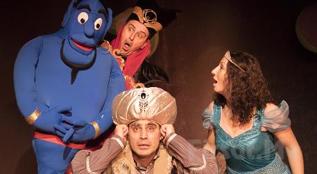 Bir Masal Klasiği 'Alaaddinin Sihirli Lambası' Müzikli Çocuk Tiyatrosu Bileti