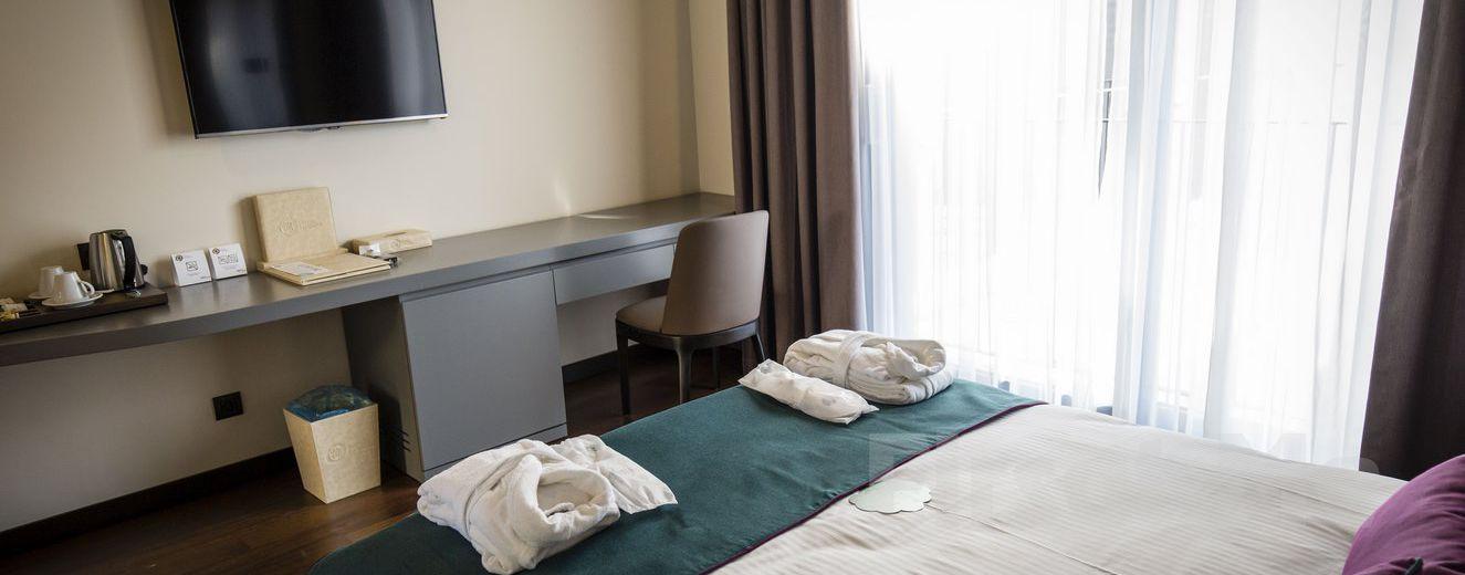 Terrace Suites İstanbul Sütlüce'de Konaklama ve Kahvaltı Seçenekleri