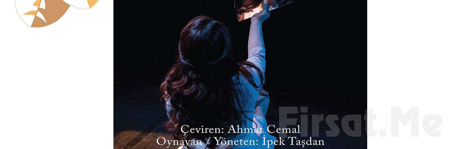 İpek Taşdan performansıyla 'Satranç' Tiyatro Oyun Bileti