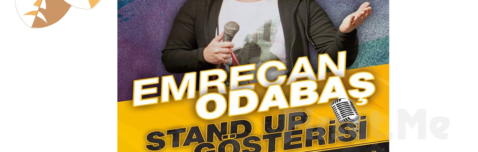 Emrecan Odabaş'tan Stand Up Gösteri Bileti