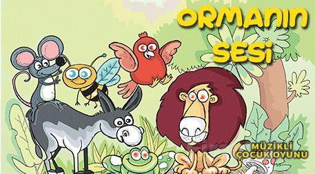 Hayvan Sevgisini Aşılayan 'Ormanın Sesi' Müzikli Çocuk Oyunu Bileti