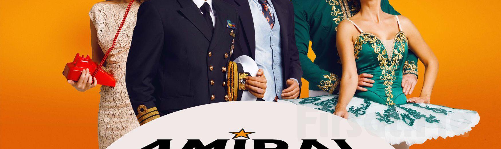 Muhteşem Kadrosuyla Karmaşa, Komedi ve Kahkaha Dolu 'Amiral Battı Kaçıyorusss' Tiyatro Oyunu Bileti