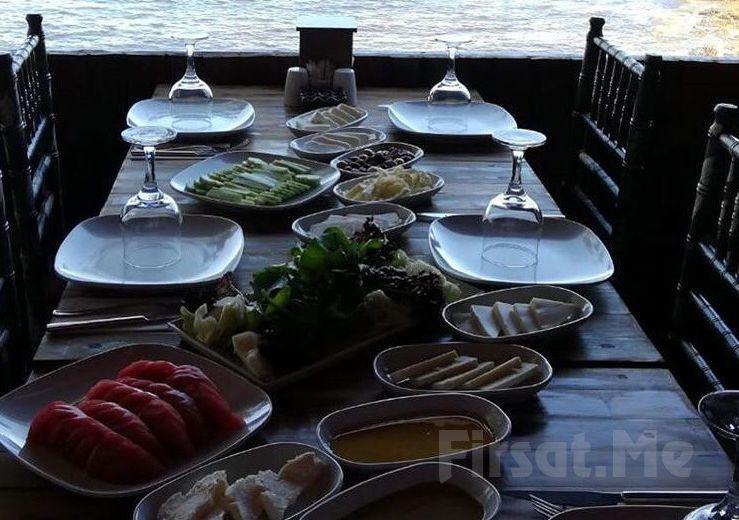 Zuğa Beach Kilyos'ta Denize Nazır Serpme Kahvaltı keyfi