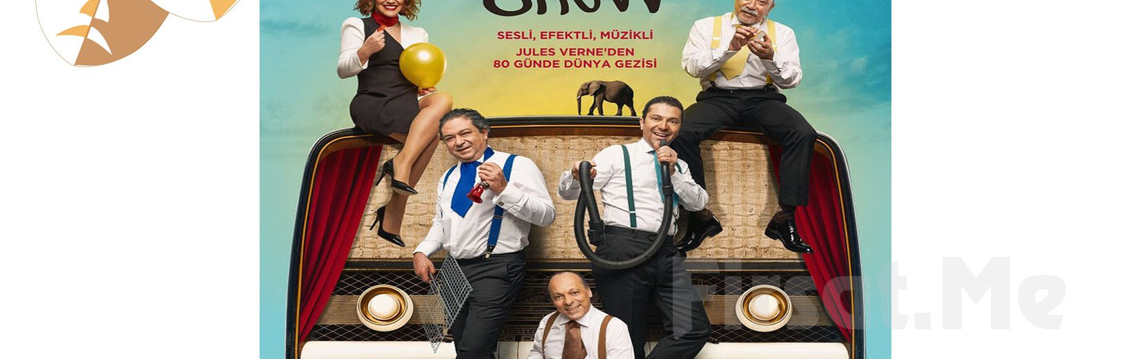 Radyodan Sahneye Muhteşem Komedi 'Radyatro Show' Tiyatro Oyunu Bileti
