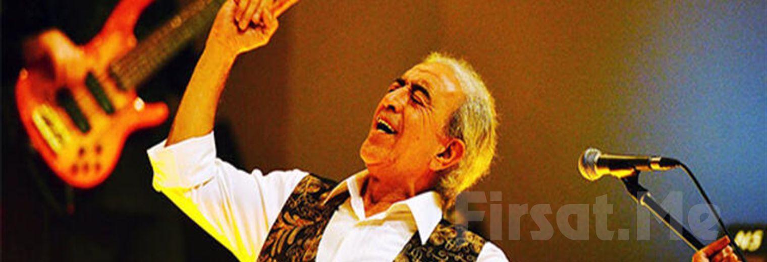 Sevilen Şarkılarıyla Duayen Sanatçı 'Edip Akbayram' Konser Bileti