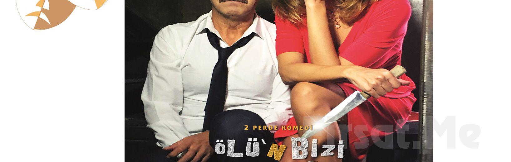 Hakan Yılmaz, Ebru Cündübeyoğlu ve Volkan Aktan'dan Tatlı Bir Komedi Ölü'n Bizi Ayırana Dek Tiyatro Oyun Bileti